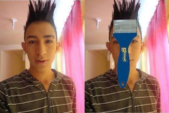 Memes graciosos de peinados feos4