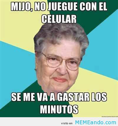 memes de abuelas