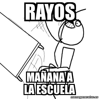 memes escuela 12