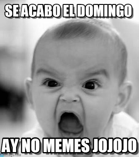 memes de domingo