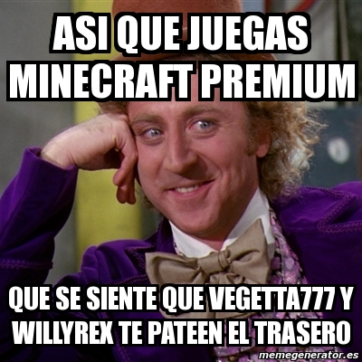 memes de Vegetta777x1