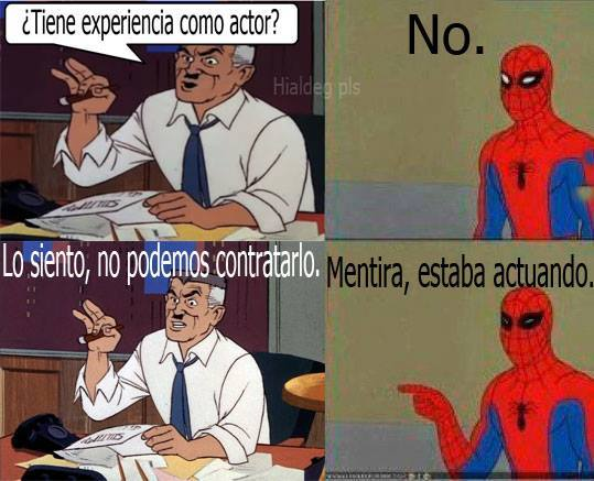 memes del hombre araña20