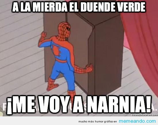 memes del hombre araña5
