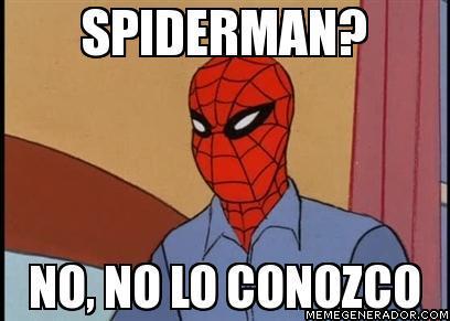 memes del hombre araña6