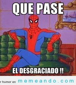 memes del hombre araña9