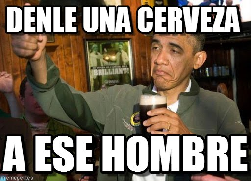 memes de denle una cerveza1
