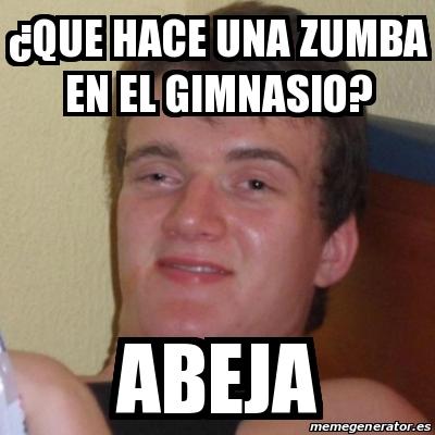 memes de zumba22