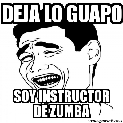 memes de zumba32