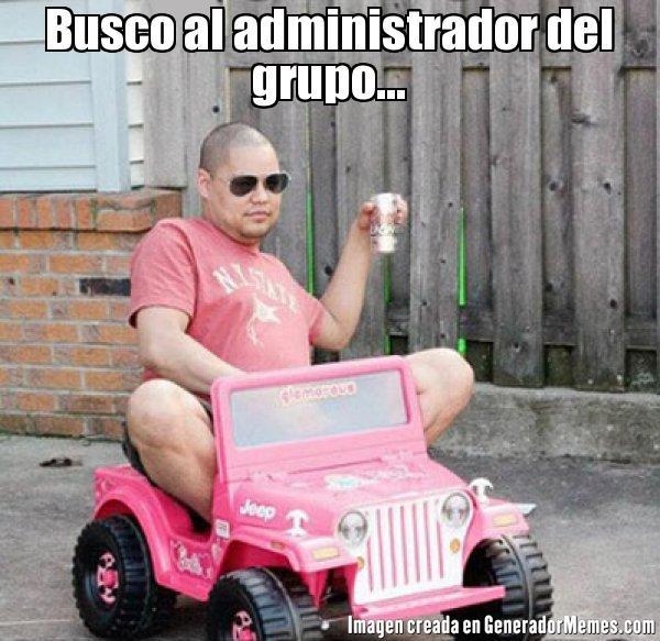 memes de administradores - busco al admin