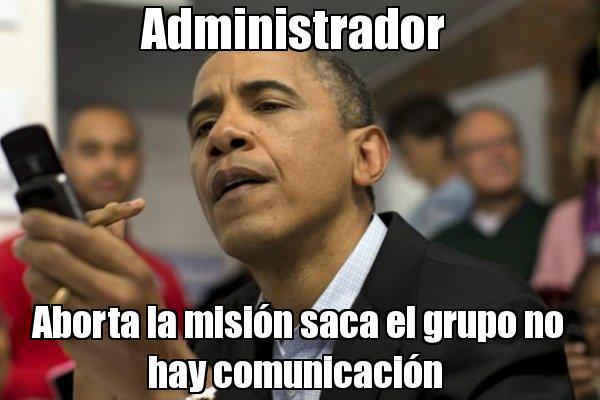 memes de administradores - obama
