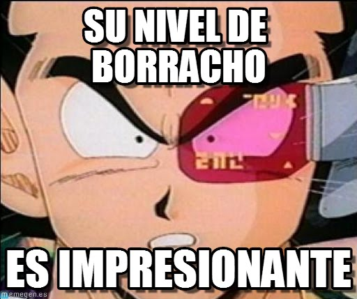 memes de amigos borrachos - dragon ball