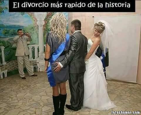 memes de bodas - divorcio en la boda