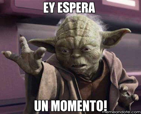 memes de espera - yoda star war