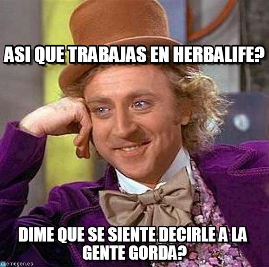 memes de herbalife - charlie
