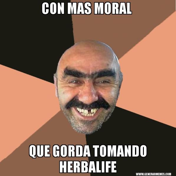 memes de herbalife - con mas moral