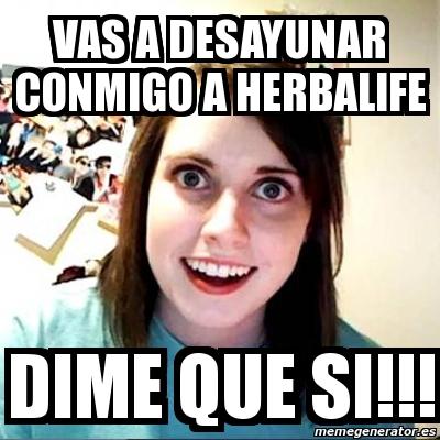 memes de herbalife - novia celosa