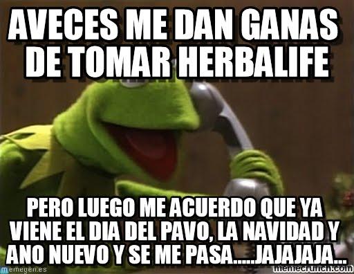 memes de herbalife - rana rene