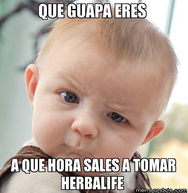 memes de herbalife - toma herbalife