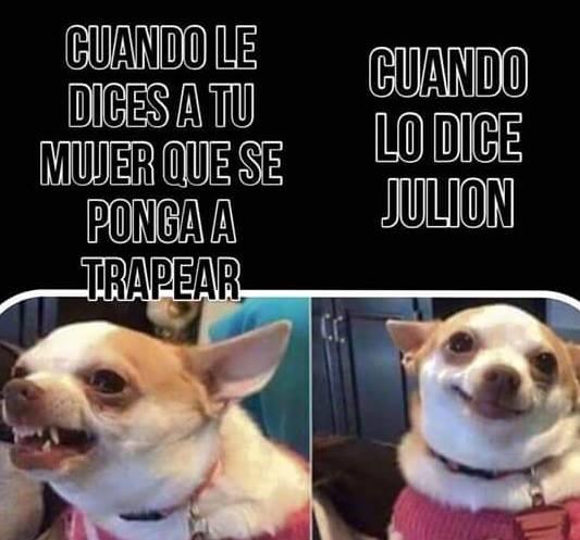 memes de julion - cuando lo dice julion