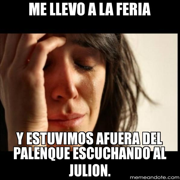 memes de julion - escuchando a julion