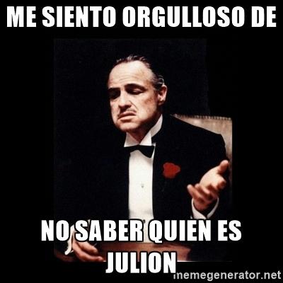 memes de julion - padrino