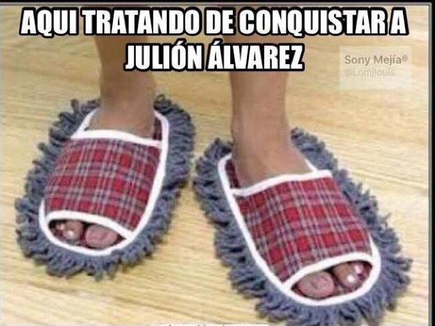 memes de julion - tratando de conquistar