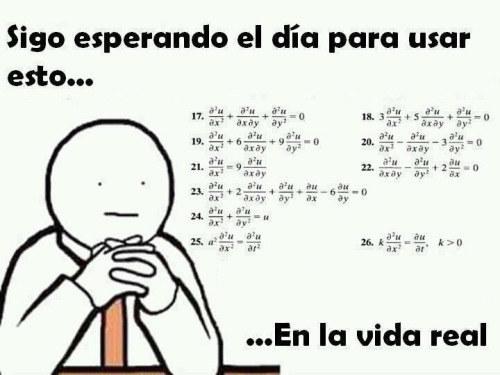 memes de matematicas - esperando usar las mates