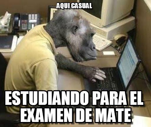 memes de matematicas - estudiando mates