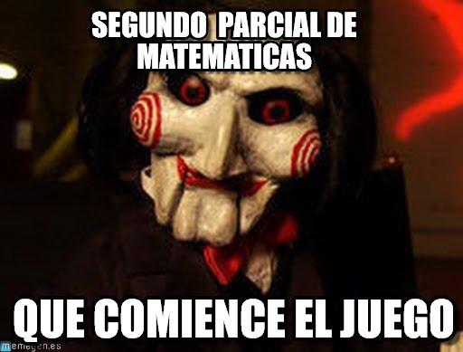 memes de matematicas - que comience el juego