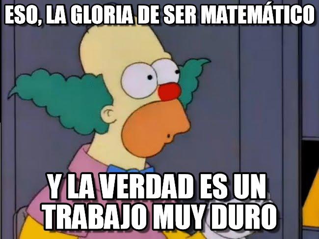 memes de matematicas - ser matematico