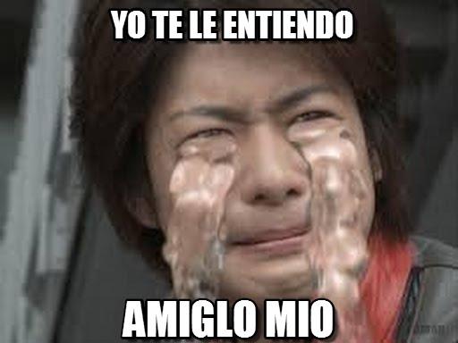 memes de no entiendo - xno llorando