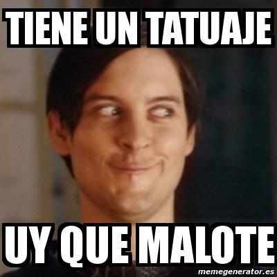 Memes de Tatuajes - Imagenes chistosas Tobey Maguire Net