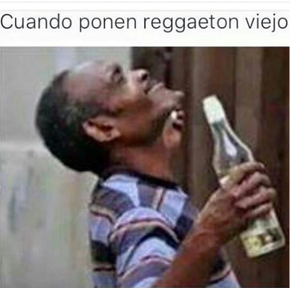 nuevas imagenes y memes chistosos - reggaeton del viejo