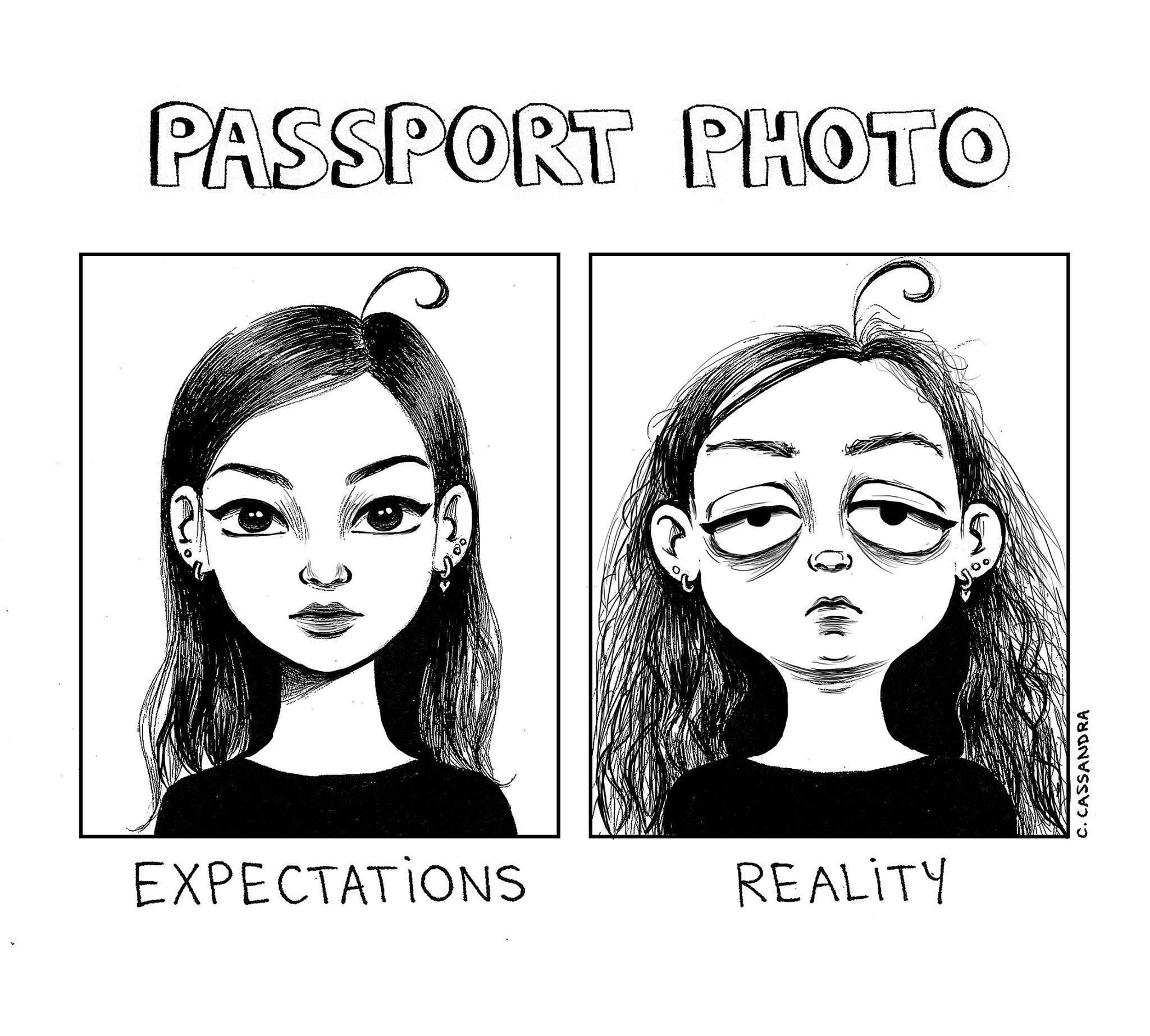 imagenes chistosas nuevas 2016 - foto de pasaporte