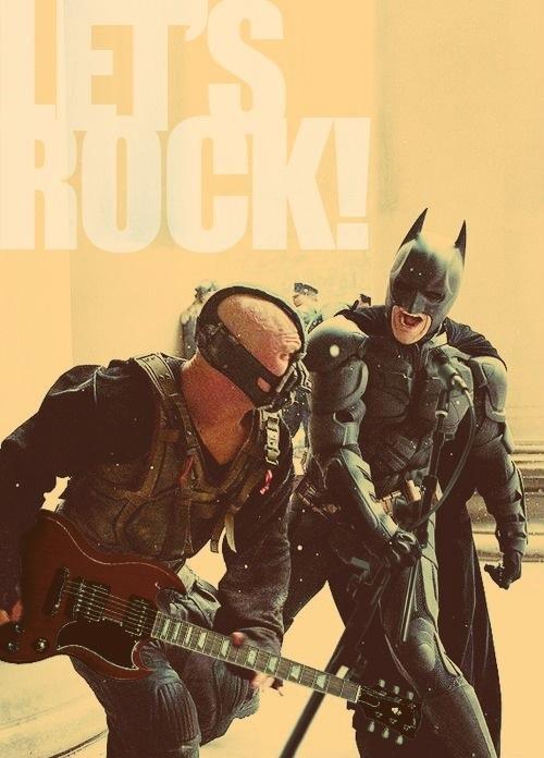 memes de batman - batman cantando con villano