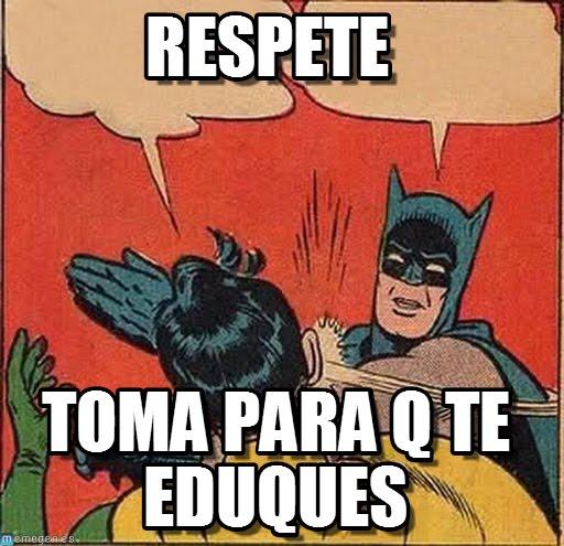 memes de batman - respeta