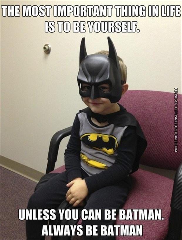 memes de batman - si puedes ser batman