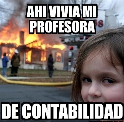 memes de contadores - profesora de contabilidad