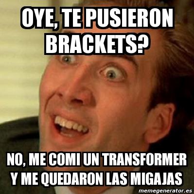 memes de dentistas - brackets