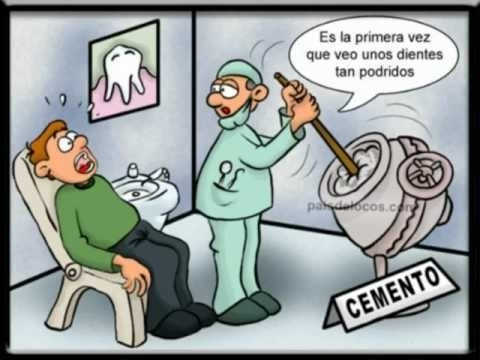 memes de dentistas - caricatura