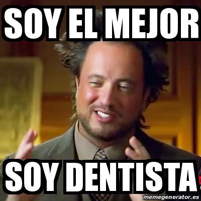 memes de dentistas - cientifico loco