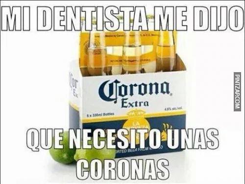 memes de dentistas - coronas
