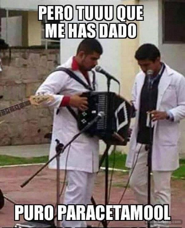 memes de doctores - musico