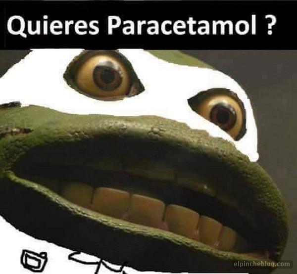 memes de doctores - paracetamol