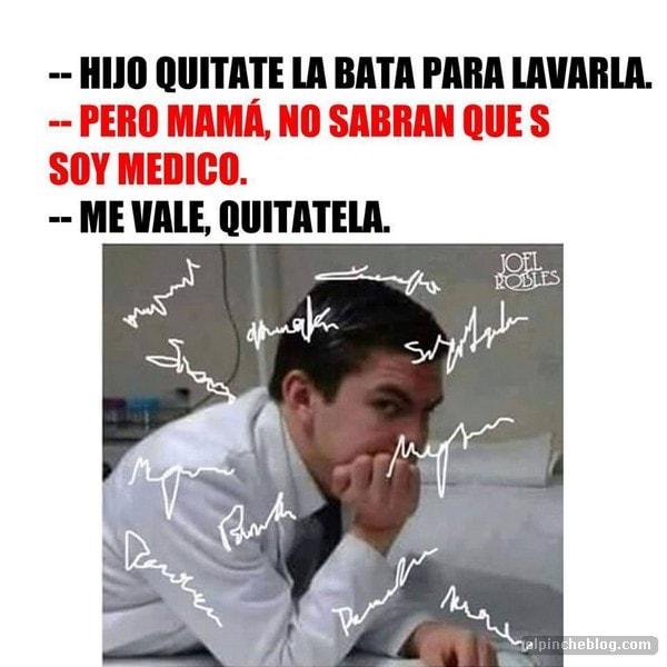 memes de doctores - quitate la bata