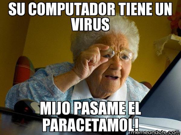 memes de doctores - u computador