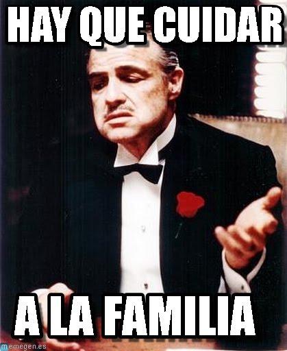 memes de familia - el padrino