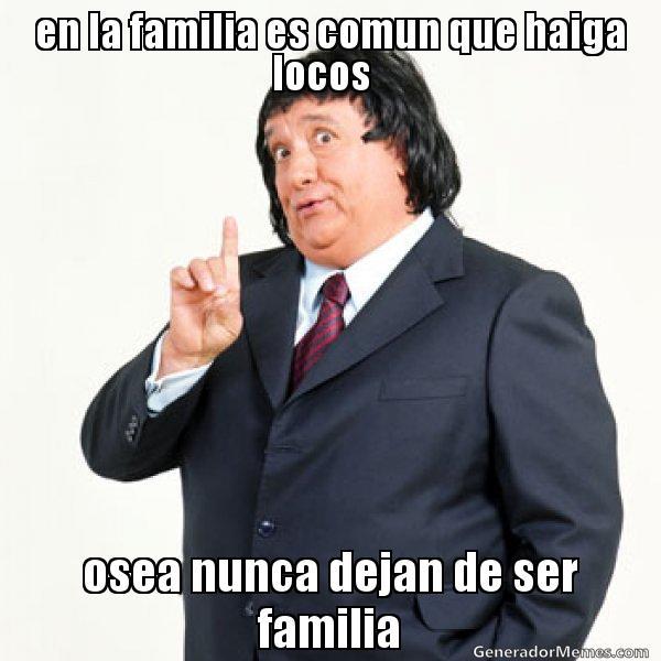 memes de familia - gordito naco