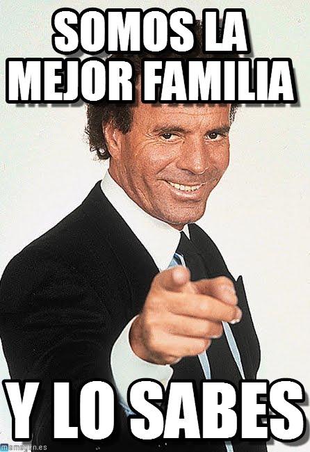 memes de familia - julio iglesias
