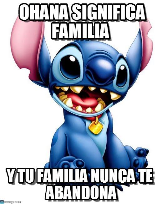 memes de familia - stich